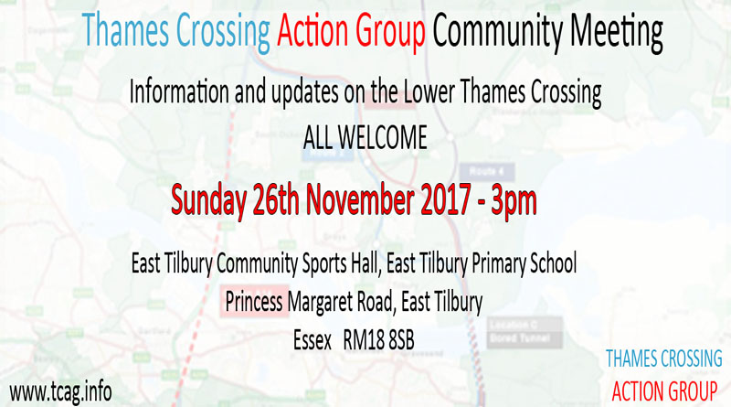 East Tilbury and Linford TCAG Meeting