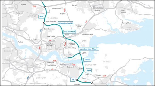 1st Nov Highways England Route Update.
