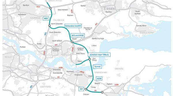 1st Nov Highways England Route Update