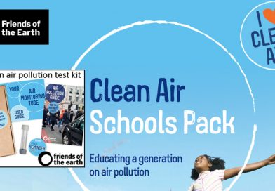 Friends Of The Earth Clean Air Schools Pack