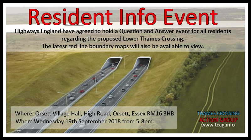 Residents Info Event