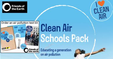 Air pollution info for your children