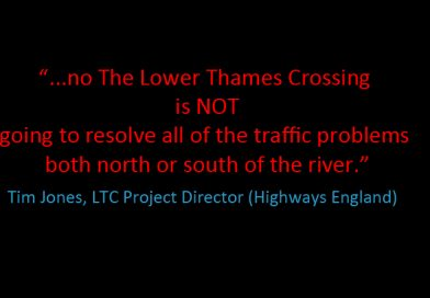 It won't solve Dartford Crossing issues
