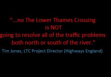 It won't solve Dartford Crossing issues
