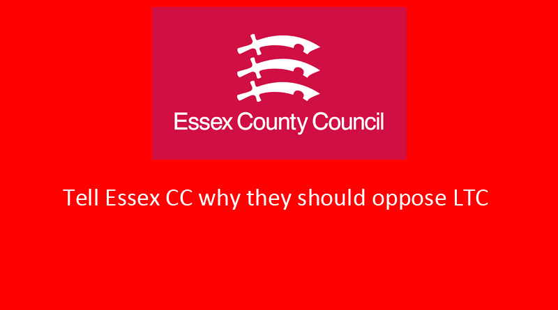 Essex County Council motion to support LTC