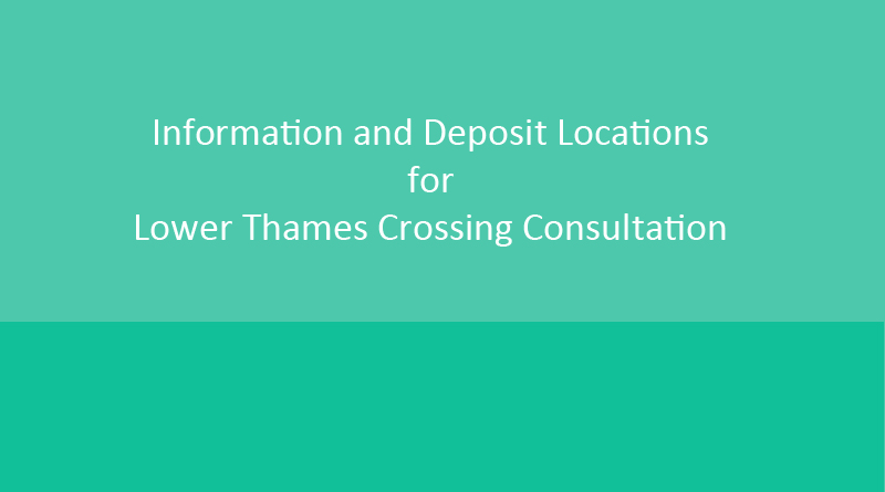 Consultation Deposit and Information Locations