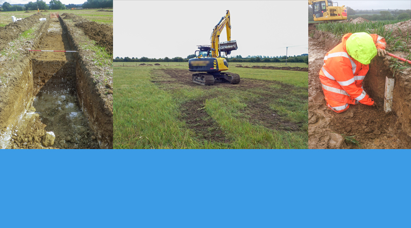 Archaeological trial trenching and surveys