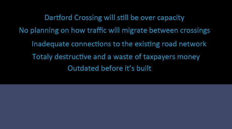 Lower Thames Crossing is not fit for purpose