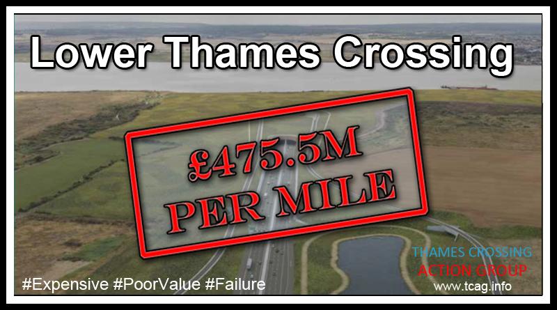 LTC Cost Per Mile £475.5m