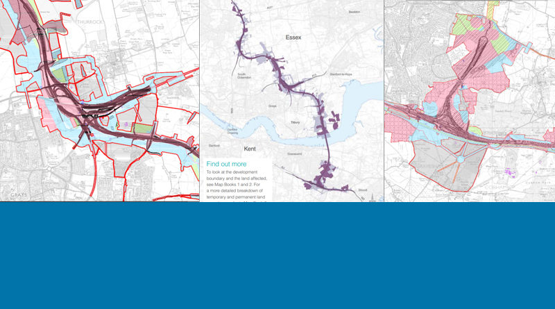 Lower Thames Crossing Maps issued 29 Jan 2020