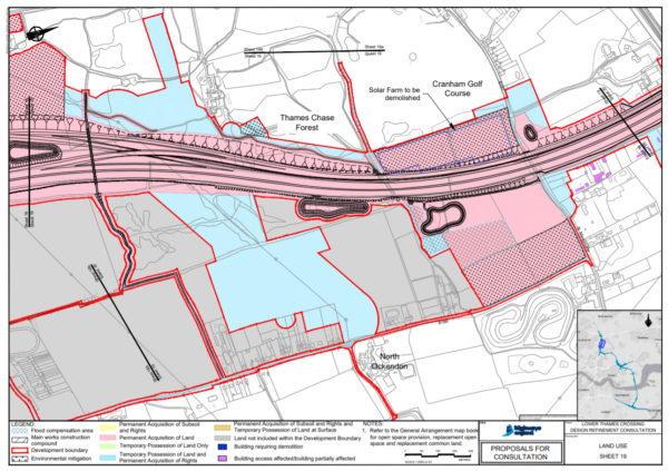 Cranham Solar Farm Demolished Land Use Map