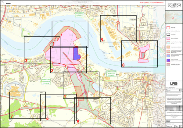 London Resort Development Boundary