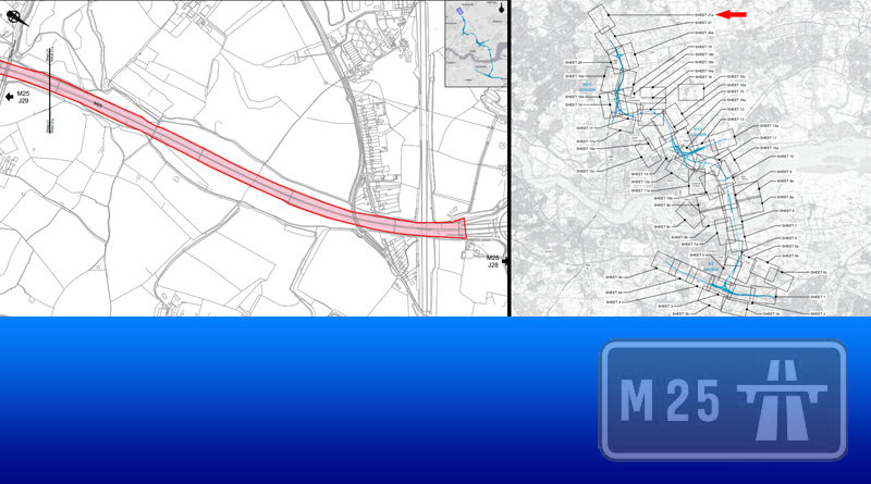LTC Development Boundary stretches to J28 on the M25