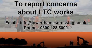 How to report issues relating to LTC works