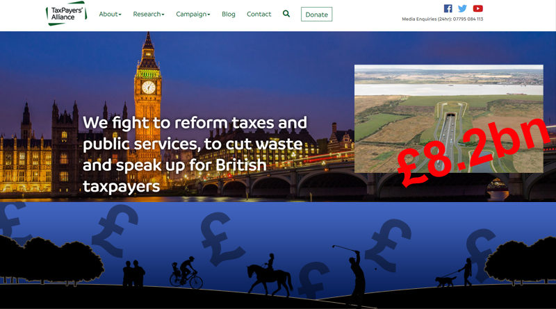 TCAG email to TaxPayers Alliance update