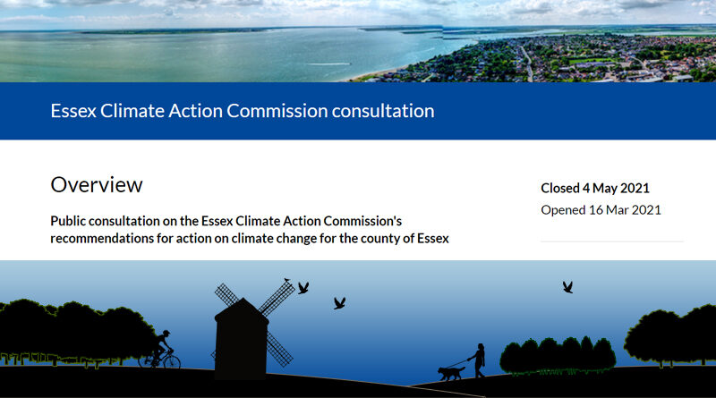 Essex Climate Action Commission Consultation