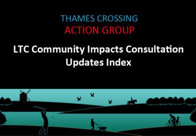 LTC Community Impacts Consultation Updates Index