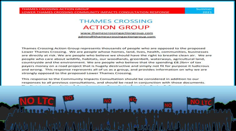 TCAG response to LTC Community Impacts Consultation