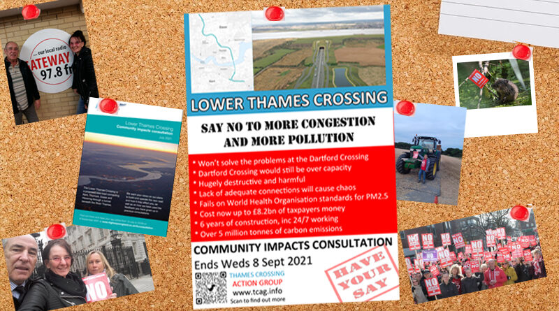 TCAG 'Have your Say' poster info